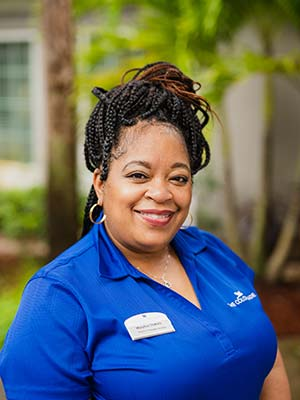 Maryann Perkins Director of Resident Services at The Colonnade at Northdale assisted living and memory care community in Tampa, FL