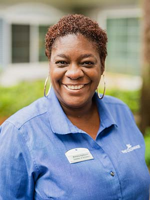 Wenona Vanduyne Director of Activities at The Colonnade at Northdale assisted living and memory care community in Tampa, FL